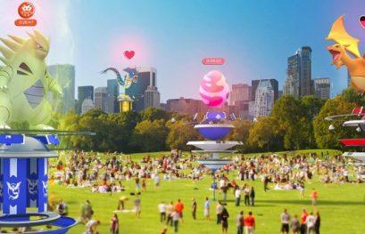 Крупное обновление Pokemon Go: кооперативный режим и рейды!