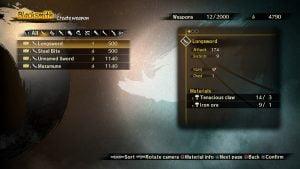 Крафт оружия и брони в Toukiden 2