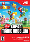 Обложка игры New Super Mario Bros. Wii