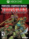 Обложка игры Teenage Mutant Ninja Turtles: Mutants in Manhattan