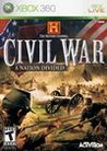 Обложка игры The History Channel: Civil War - A Nation Divided