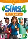 Обложка игры The Sims 4: Get to Work