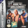 Обложка игры WWF Road to Wrestlemania