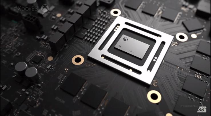 Старт продаж Xbox One X project Scorpio