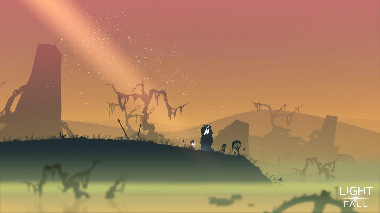 light fall marsh